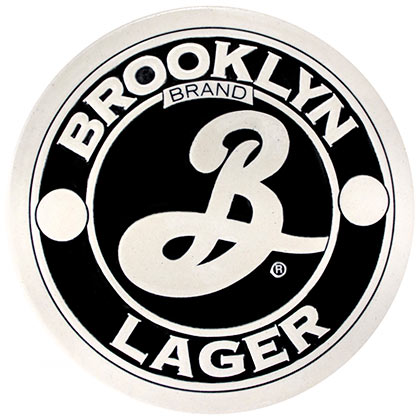 Sous-verre Brooklyn Brewery