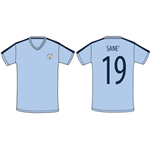 Maillot Manchester City FC 339324