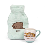 Pusheen bouillotte & mug Super Lazy