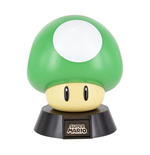 Super Mario Bros veilleuse 3D Icon 1Up Mushroom 10 cm