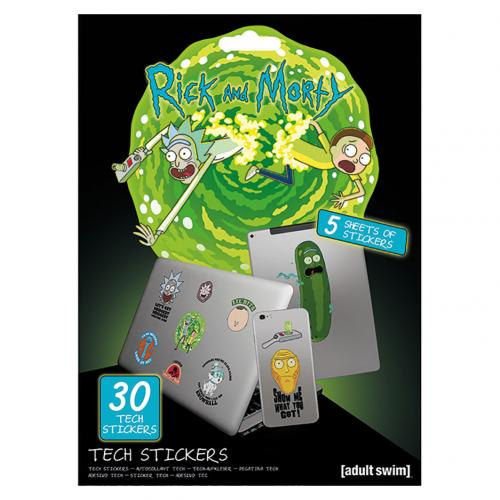 Autocollant Rick and Morty 340081