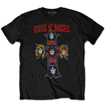 T-shirt Guns N'Roses pour homme - Design: Vintage Cross