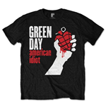 T-shirt Green Day pour homme - Design: American Idiot