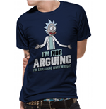 T-shirt Rick And Morty - Design: Arguing