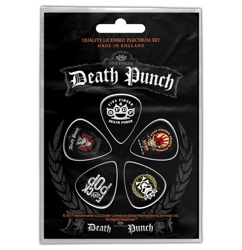 Médiator Five Finger Death Punch  - Design: Logos