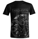 T-shirt Le Trône de fer (Game of Thrones): Targaryen House Sigil (Unisexe)