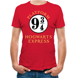 T-shirt Harry Potter: 9 And 3 Quarters