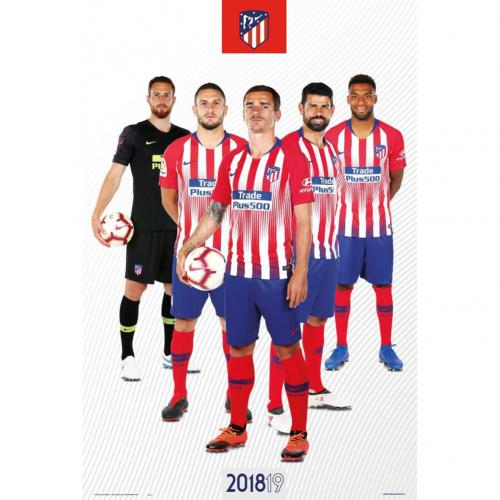 Poster Atletico Madrid