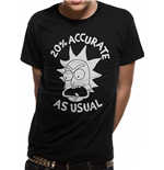 T-shirt Rick And Morty - Design: Accurate