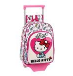 Hello Kitty valise à roulettes Mini Girl Gang 34 cm
