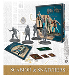 Harry Potter pack 4 figurines 35 mm Scabior & Snatchers *ANGLAIS*