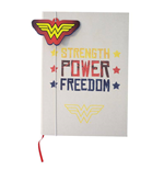 Wonder Woman cahier relié Strength Power Freedom