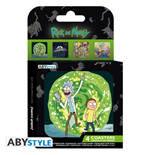 Sous-verre Rick and Morty 343921