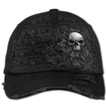 Casquette Spiral Skull Scroll - Distressed