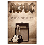 Poster Textile AC/DC: In Rock We Trust
