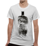 T-shirt Justice League Movie - Design: Batman Silhouette