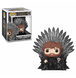 Game of Thrones POP! Deluxe Vinyl figurine Tyrion Sitting on Iron Throne 15 cm