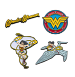 DC Comics pack 4 pin's Wonder Woman