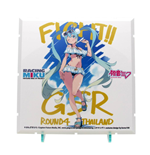 Dioramansion 150 accessoire pour figurines Racing Miku Pit 2018 Optional Panel Rd. 4 Thailand