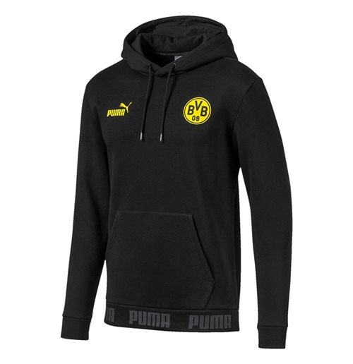 Sweat à Capuche Borussia Dortmund Puma Football Culture 2019-2020 (Noir)
