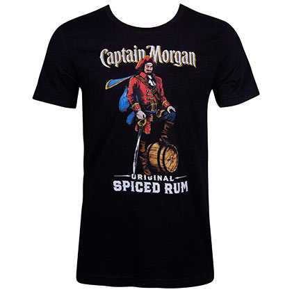 T-shirt Captain Morgan Spiced Rum