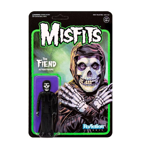Misfits figurine ReAction The Fiend Midnight Black 10 cm