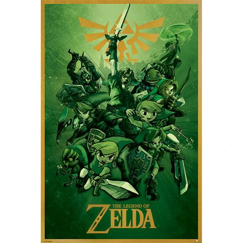 Poster The Legend Of Zelda - Link 141