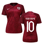Maillot 2018/19 Angleterre Football Away 2019-2020 (Votre Nom)