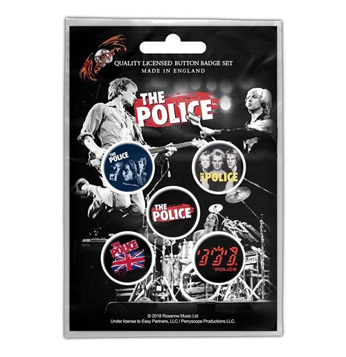Épinglette The Police  - Design: Various