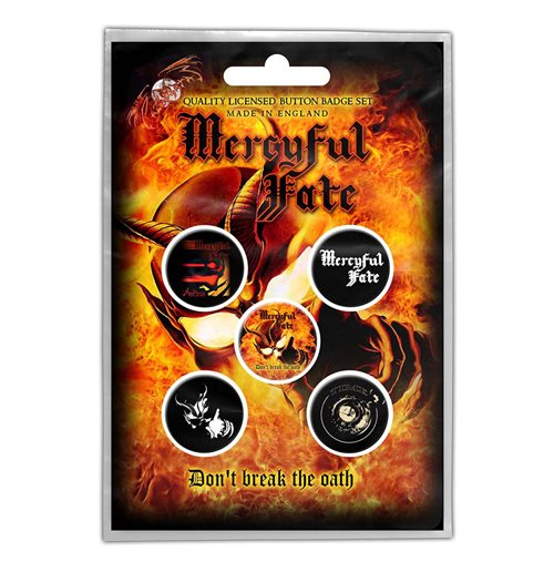 Épinglette Mercyful Fate: Don't Break the Oath