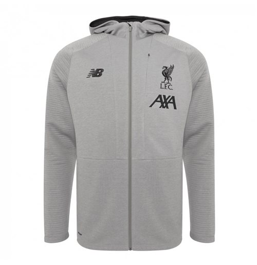 Sweat zippé Liverpool FC 2019-2020 (Gris)