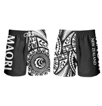 Short de Bain All Blacks Nouvelle-Zélande - Tribal
