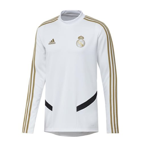 Maillots d'entraînement Real Madrid 2019-2020 (Blanc)