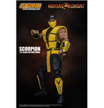 Mortal Kombat figurine 1/12 Scorpion 16 cm