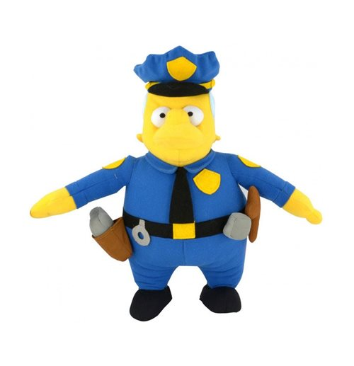 Simpsons peluche Chief Wiggum 31 cm