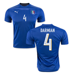 Maillot Italie Football Home 2016-2017