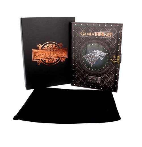 Game of Thrones journal Winter is Coming 26 x 19,5 cm