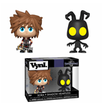 Kingdom Hearts 3 pack 2 VYNL Vinyl figurines Sora & Heartless 10 cm