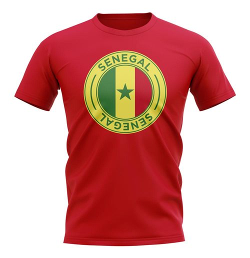 T-shirt Sénégal Football (Rouge)