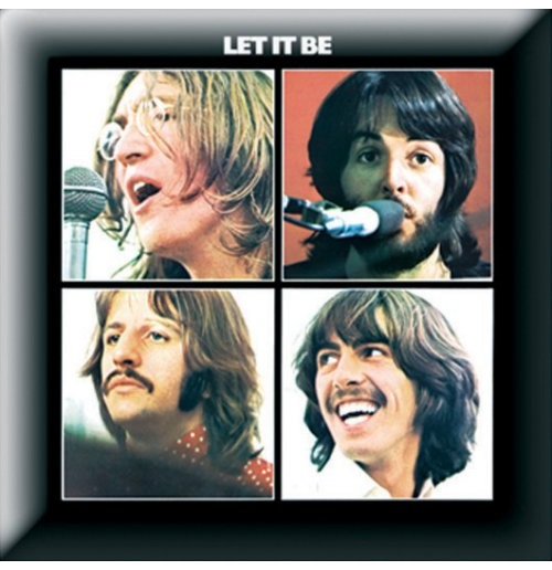 Épinglette Beatles - Design: Let it Be