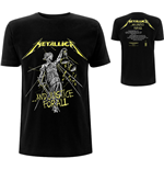 T-shirt Metallica unisexe: And Justice For All Tracks