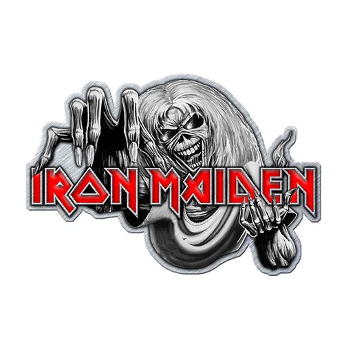 Épinglette Iron Maiden: Number of the Beast