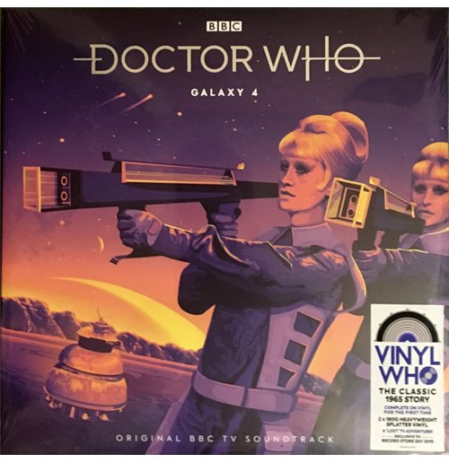 Vinyle Doctor Who: Galaxy 4 (Original Bbc Tv Soundtrack)