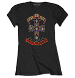 T-shirt Guns N'Roses pour femme - Design: Appetite for Destruction
