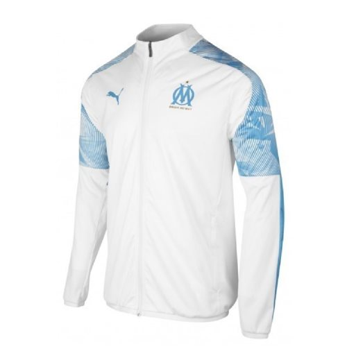 Sweat-shirt Olympique de Marseille 2019-2020 (Blanc)