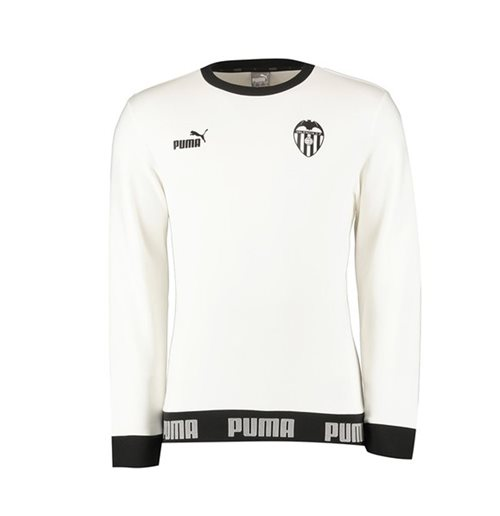 Sweat-shirt Valencia 2019-2020 (Blanc)
