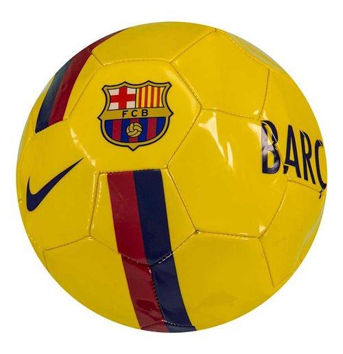 AB2203 Grande Balle de F.C Barcelone a sign/é Jaune