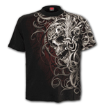 T-shirt Spiral - Skull Shoulder Wrap