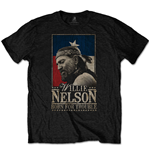 T-shirt Willie Nelson  unisexe - Design: Born For Trouble