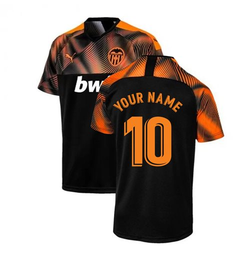 Maillot de football Valencia Away 2019-2020 (Votre Nom)